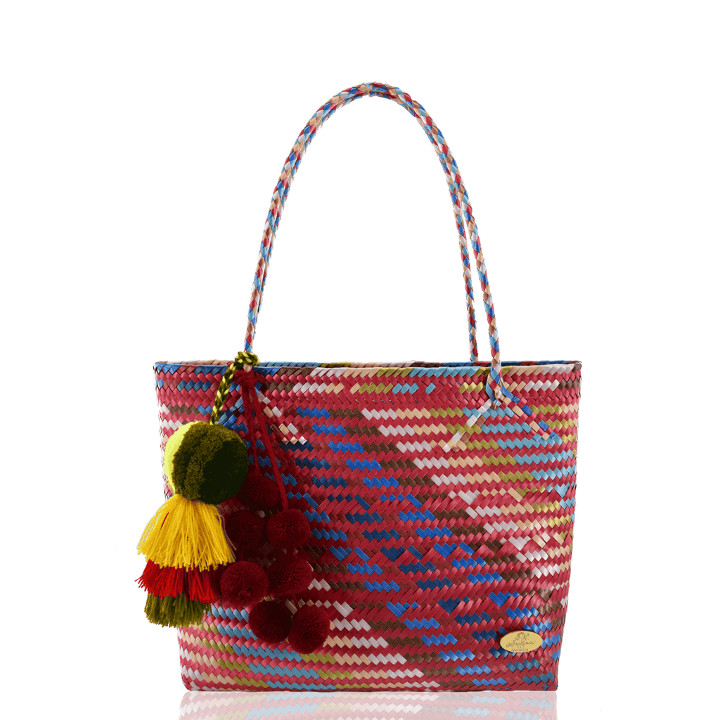 Carnaval Bag in Multi Red - Josephine Alexander Collective