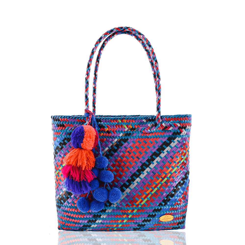 Carnaval Bag in Multi Blue