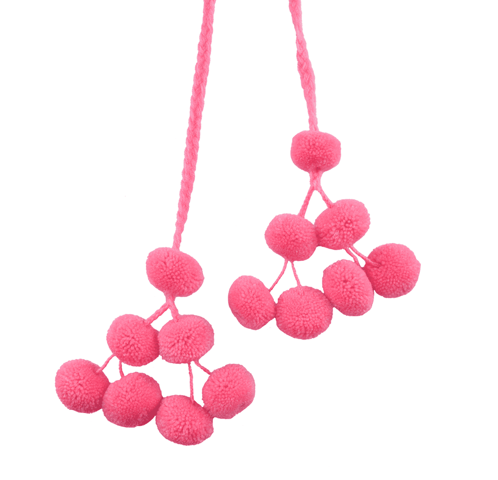 Cusco Double Pom Strand in Bubble Gum - Josephine Alexander Collective