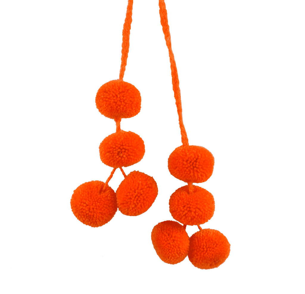 Cusco Pom Strand in Pumpkin - Josephine Alexander Collective