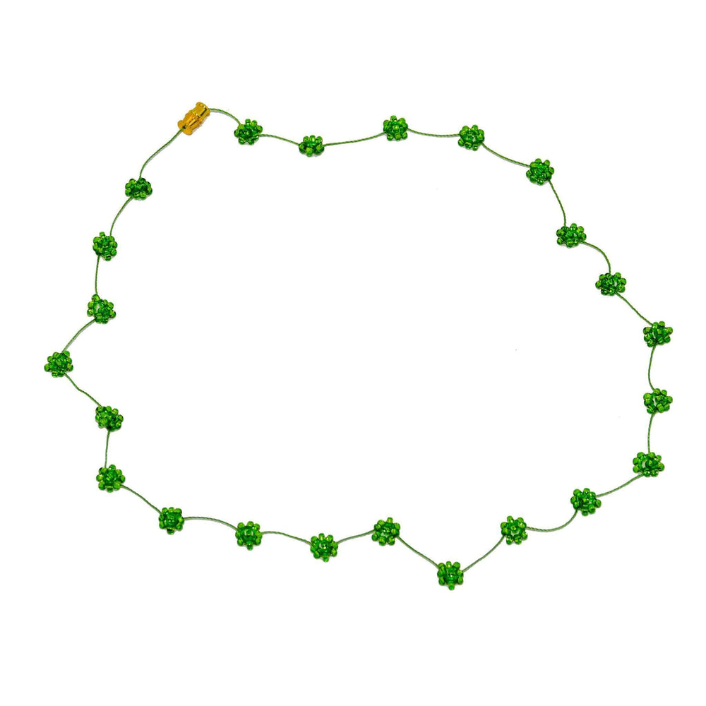 Daisy Chain Necklace in Shamrock