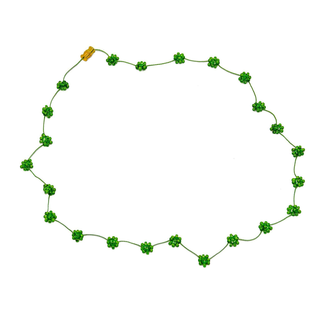 Daisy Chain Necklace in Shamrock - Josephine Alexander Collective