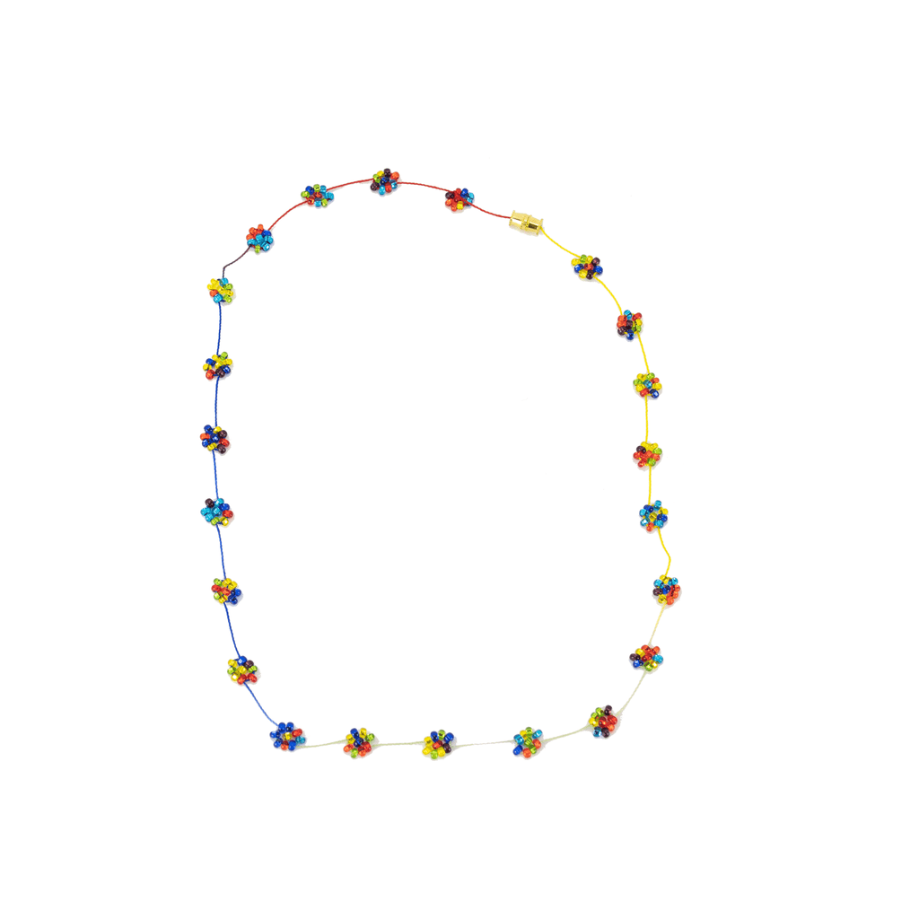 Daisy Chain Necklace in Murano