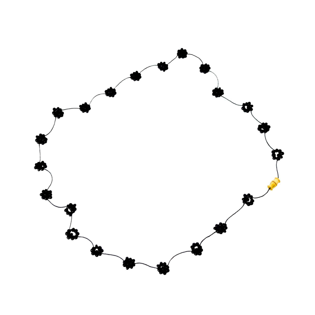 Daisy Chain Necklace in Noche - Josephine Alexander Collective