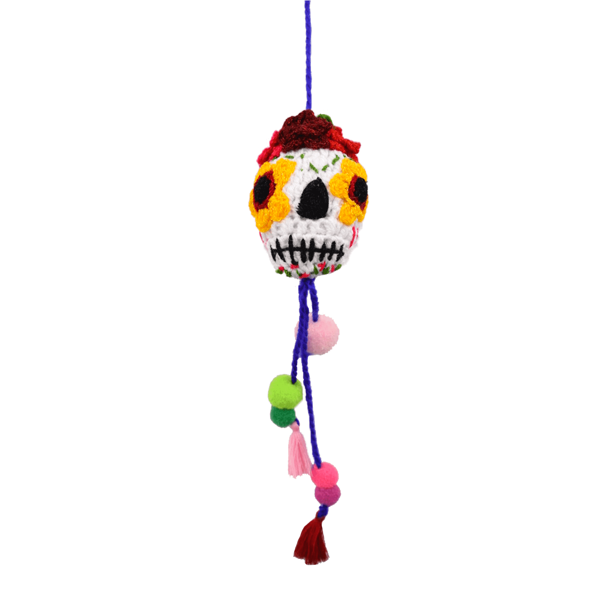 Click to Shop all- Day of the Dead Poms