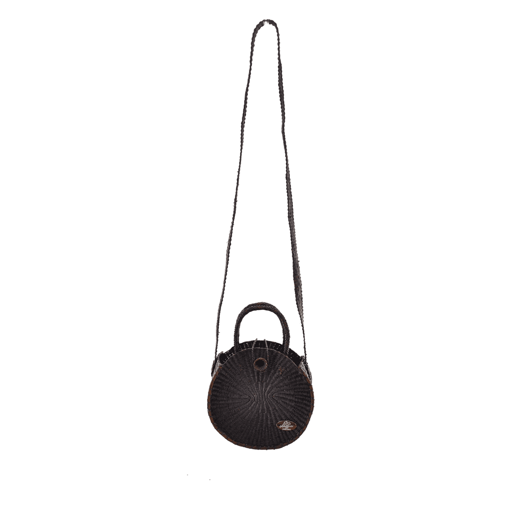 Disco Bag with Strap in Black
