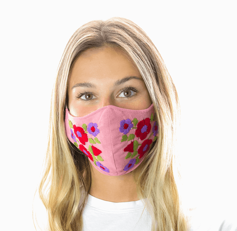 Rosita Mask - Dusty Rose - Josephine Alexander Collective