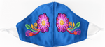 Feli Masks - Blue Flowers - Josephine Alexander Collective