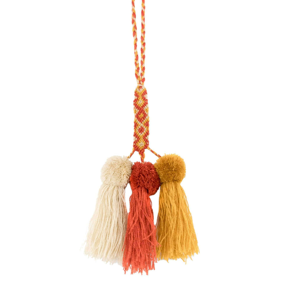 Friendship Pom Tassel in Pumpkin Spice