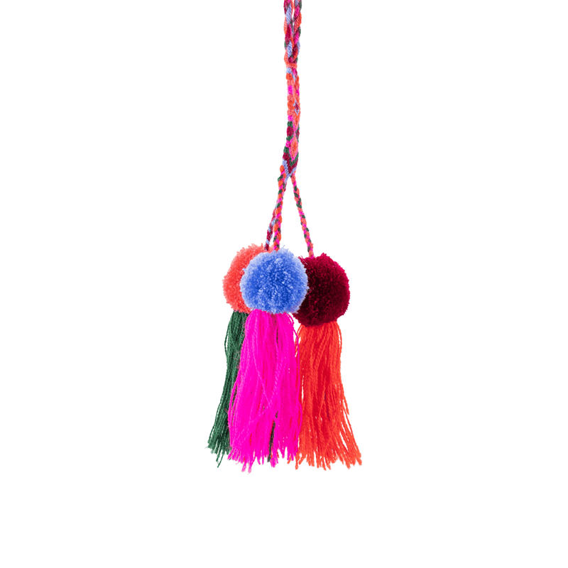 Friendship Pom Tassel in Rainbow Delight - Josephine Alexander Collective