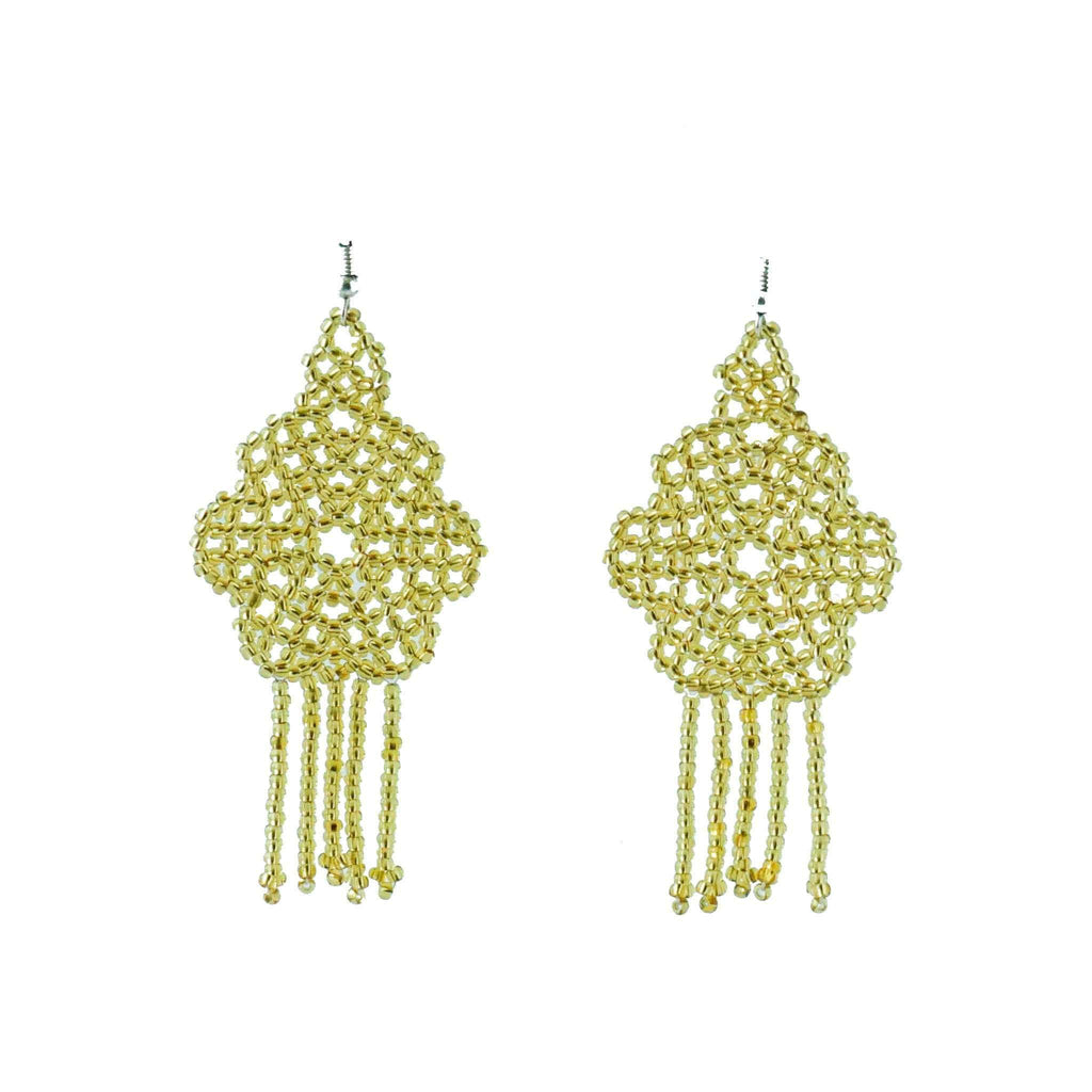 Miraflor Earrings in Oro - Josephine Alexander Collective