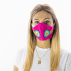 Feli Masks - Hot Pink Flowers with Freckles - Josephine Alexander Collective