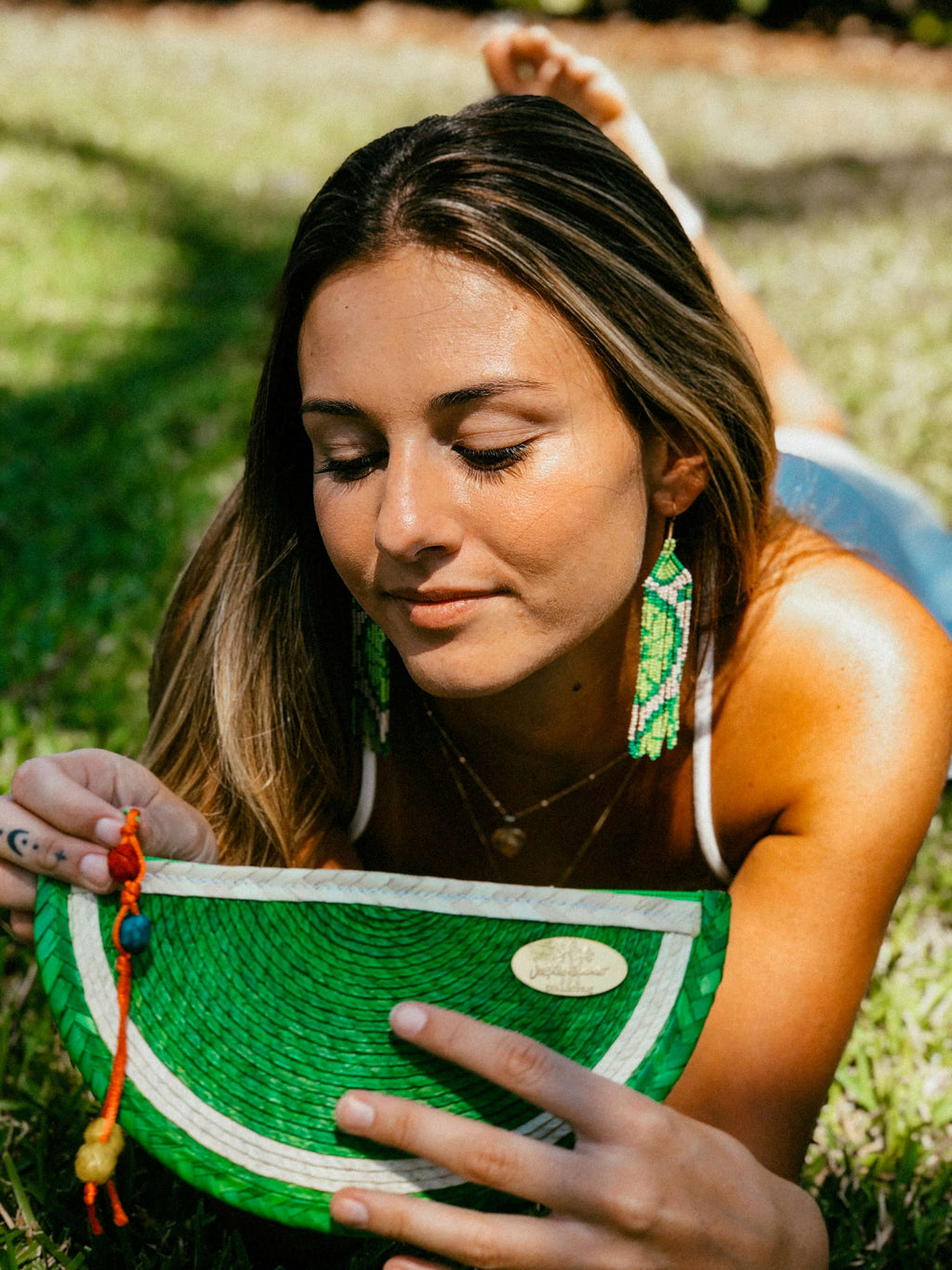 Juicy Lime Clutch - Josephine Alexander Collective