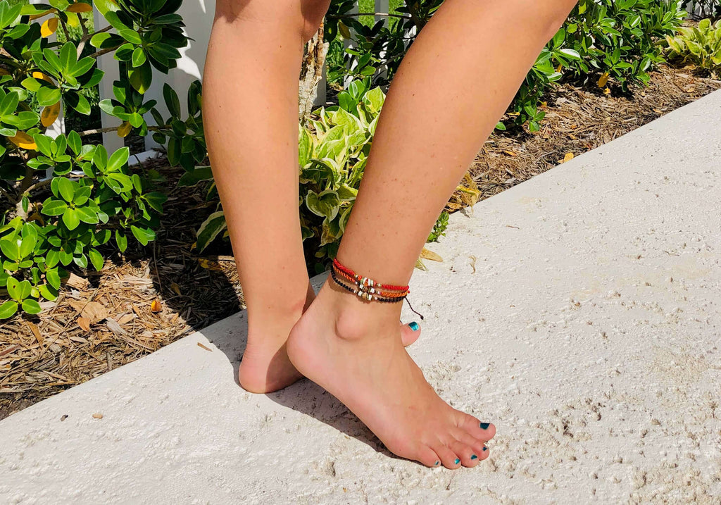 Lava Anklet Stack - Josephine Alexander Collective