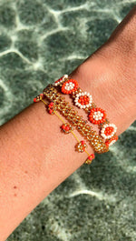 Coral Bracelet Stack - Josephine Alexander Collective