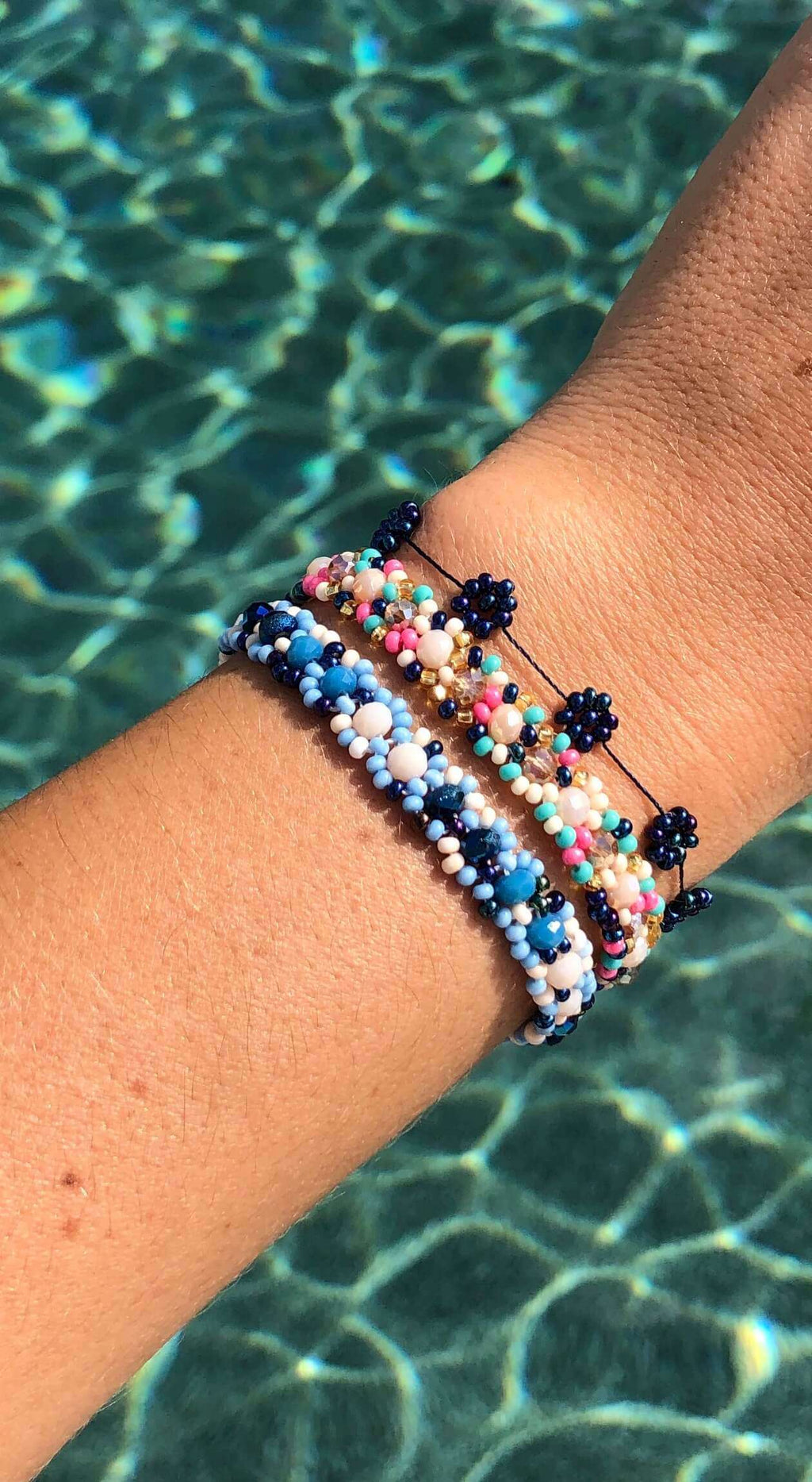 Deep Sea Bracelet Stack - Josephine Alexander Collective