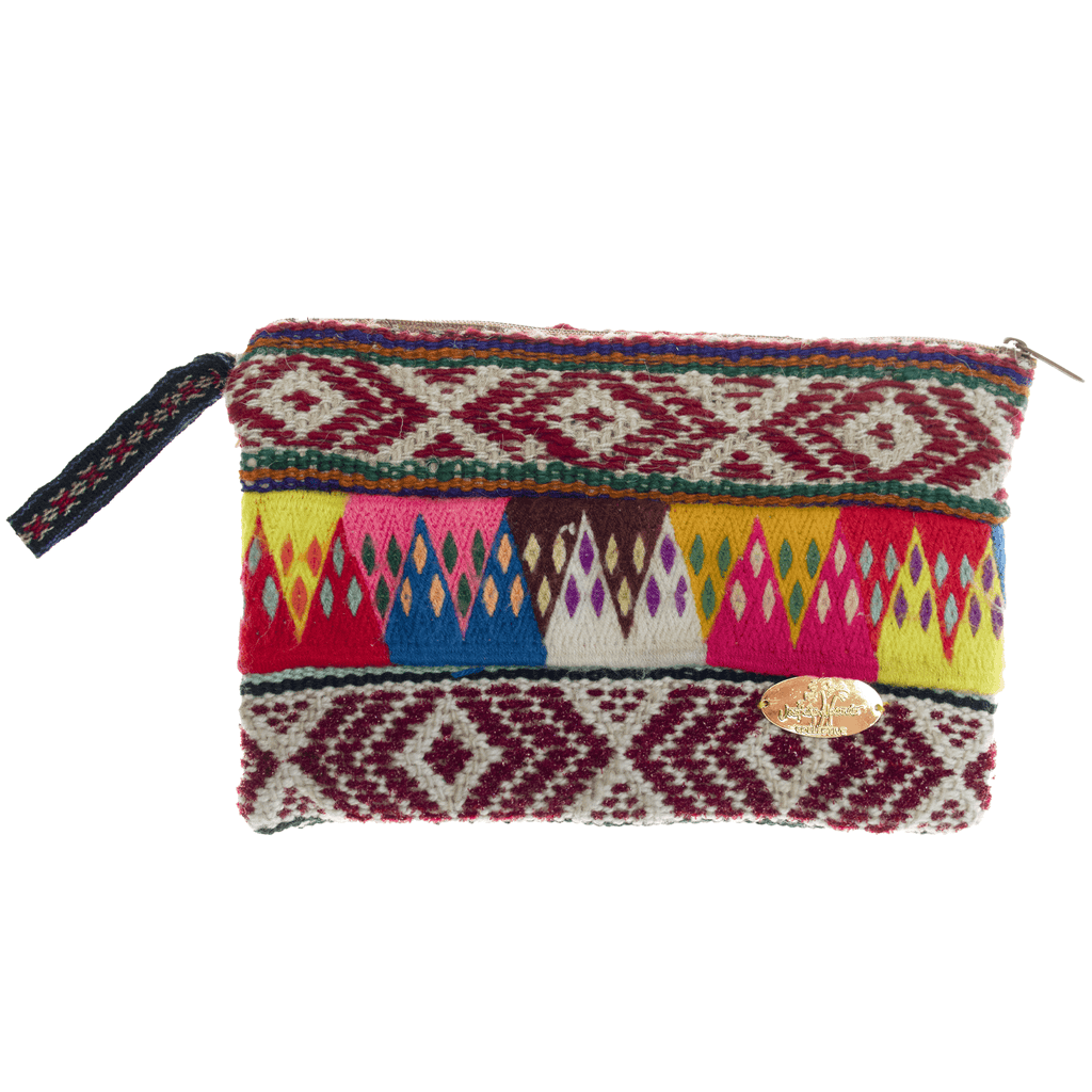 Iliana Large Woven Clutch # 8 - Josephine Alexander Collective