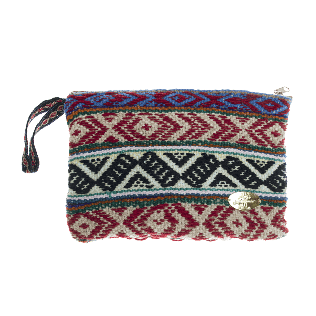 Iliana Large Woven Clutch # 5 - Josephine Alexander Collective