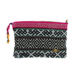 Iliana Large Woven Clutch # 7 - Josephine Alexander Collective