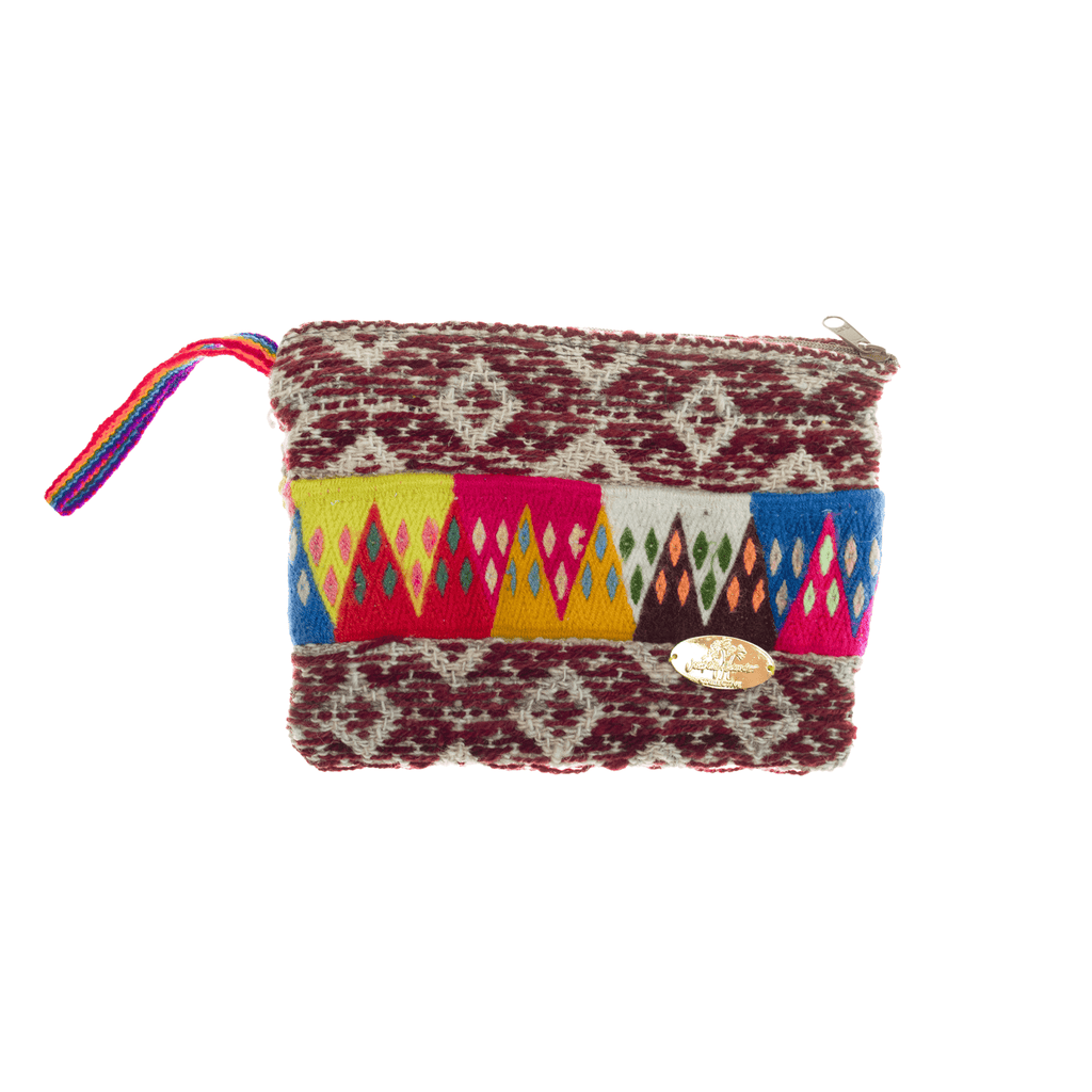 Iliana Medium Woven Clutch # 3 - Josephine Alexander Collective
