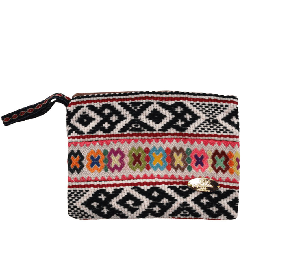 Iliana Medium Woven Clutch # 5 - Josephine Alexander Collective