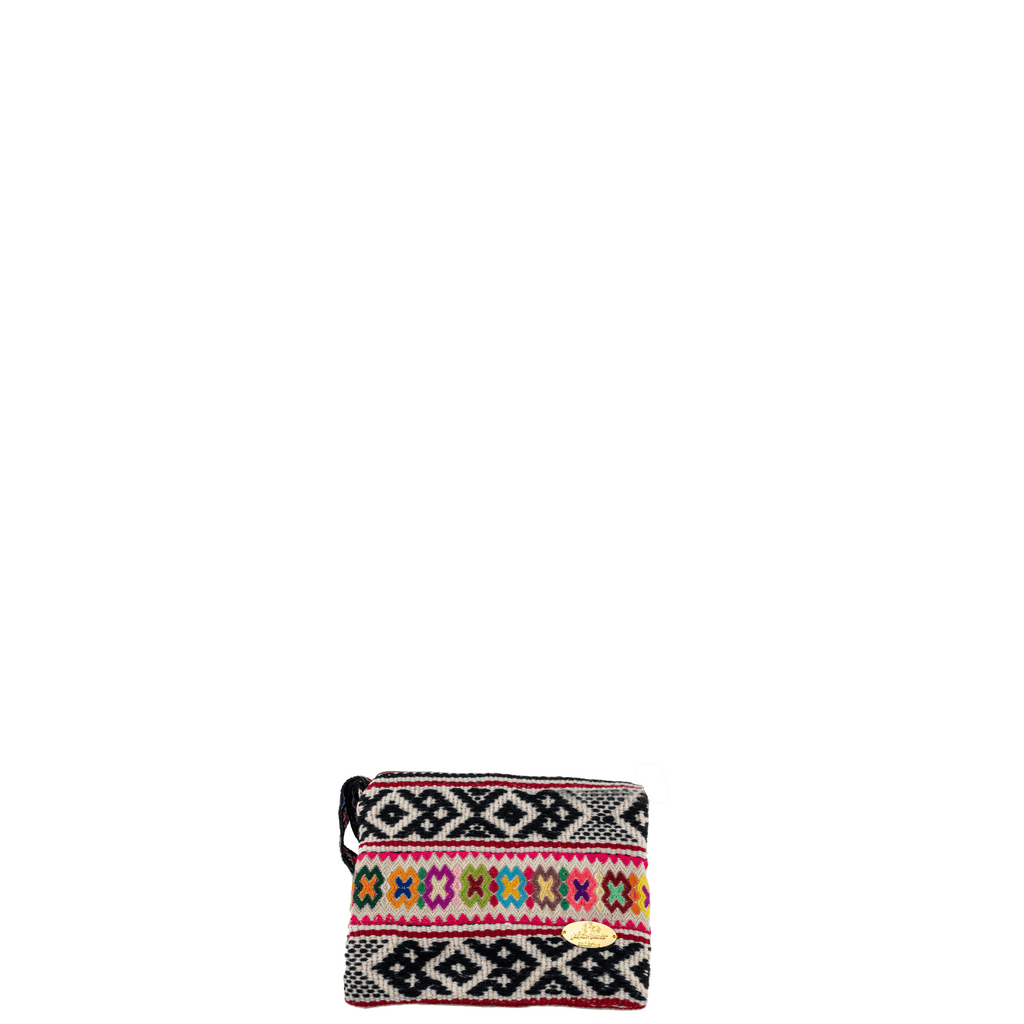 Iliana Woven Clutch in XO- Small