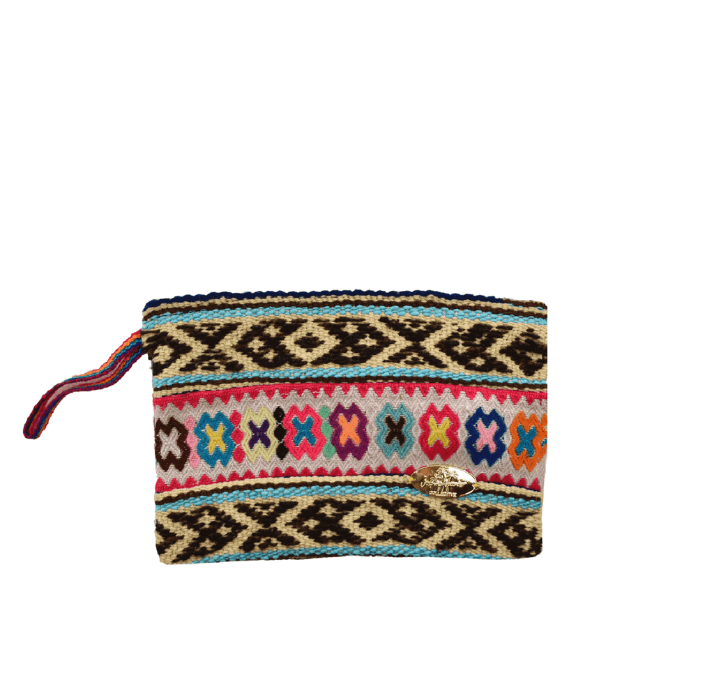 Iliana Medium Woven Clutch # 1
