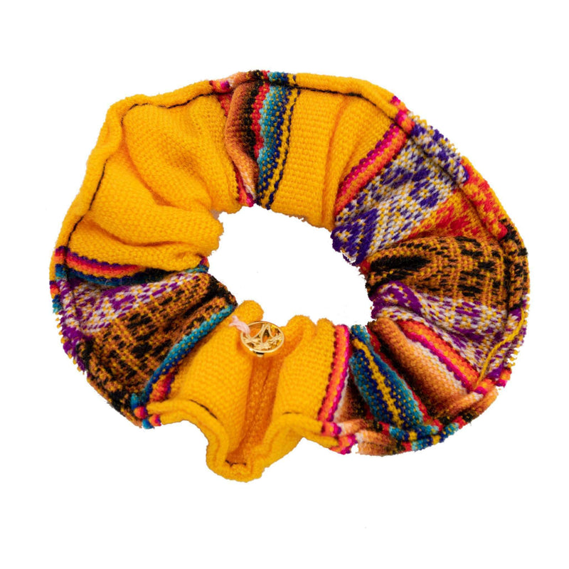 Inca Woven Scrunchie in Butterfly