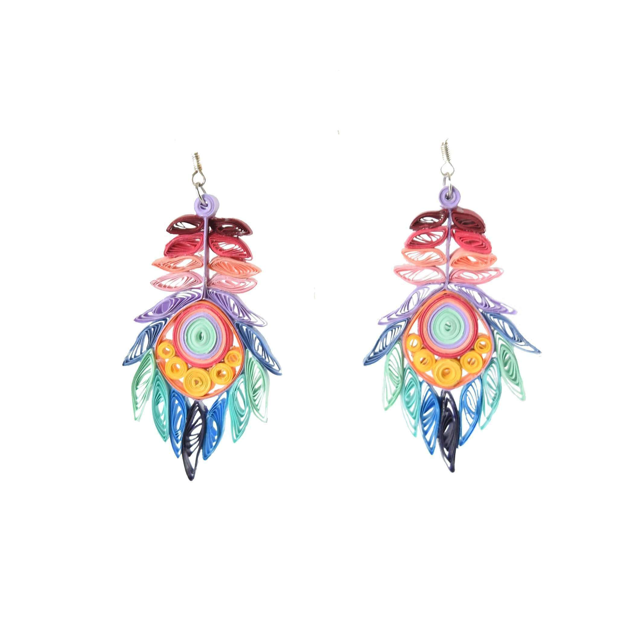 Click to shop all - Josselyn Quilled Earrings