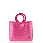 Kelly Woven Bag in Pink