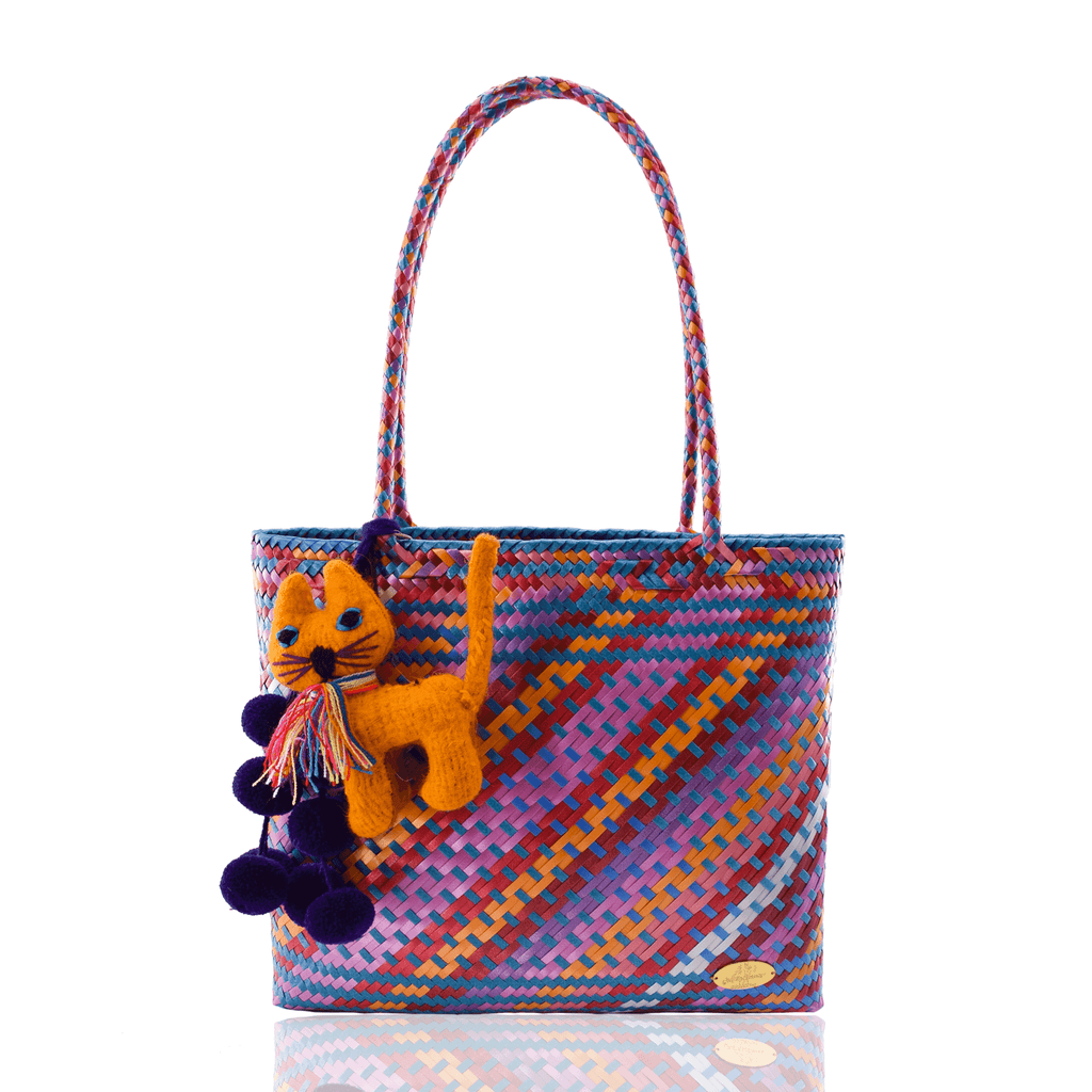 Carnaval Land Bag in Kitty Cat