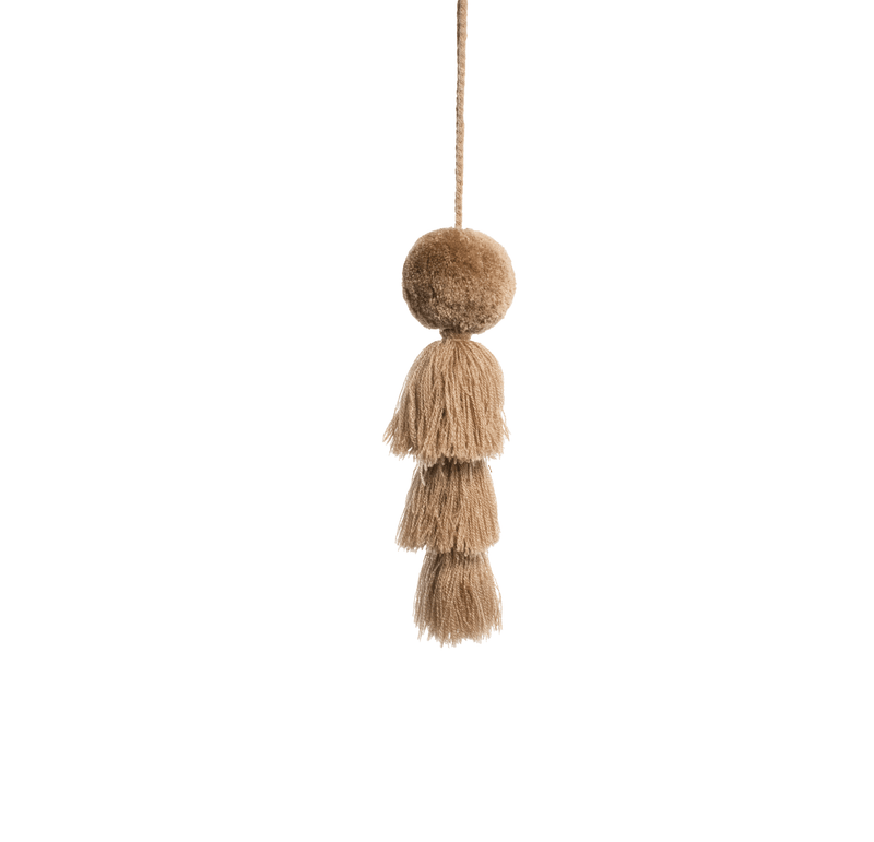 Large Pom Tassel - Army Brown - Josephine Alexander Collective