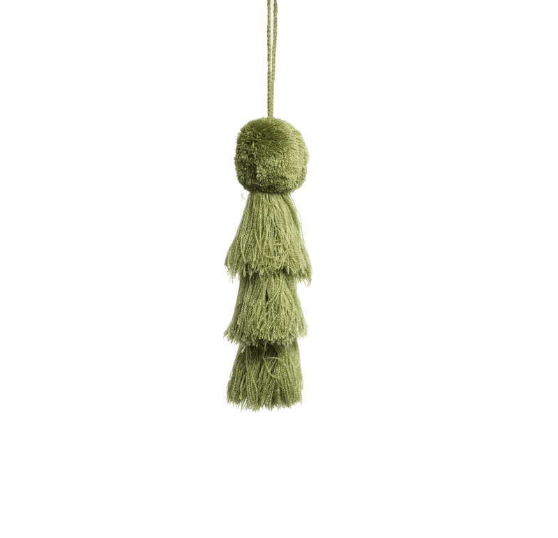 Large Pom Tassel - Forest Green - Josephine Alexander Collective