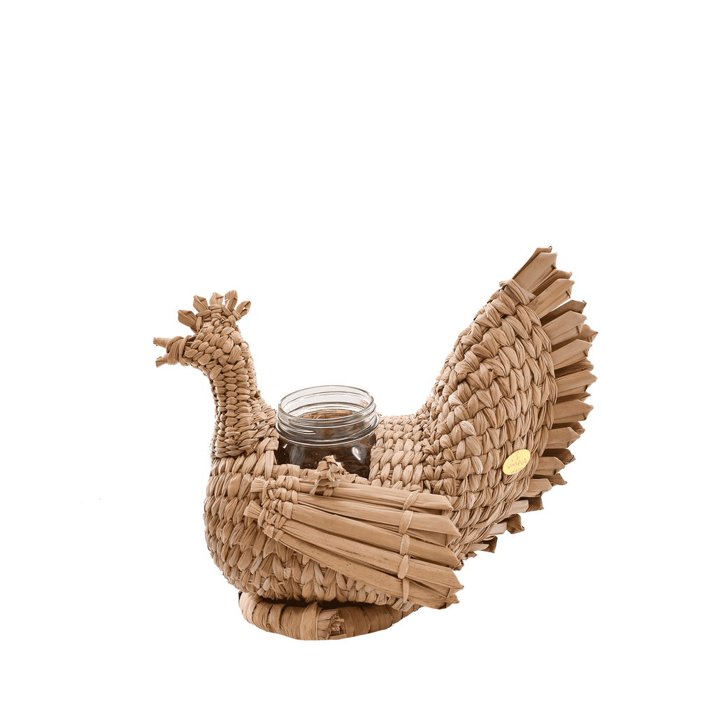 Thanksgiving Mama Hen Centerpiece