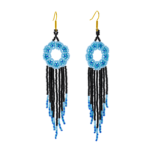 Margarita Earrings in Azul Cielo