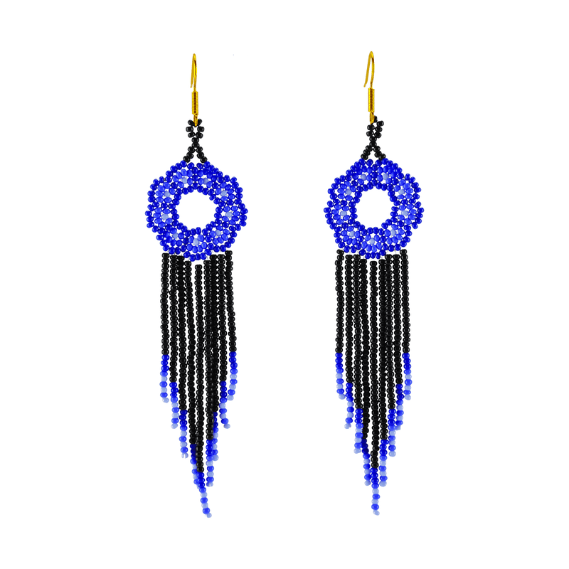 Margarita Earrings in Royal Blue - Josephine Alexander Collective