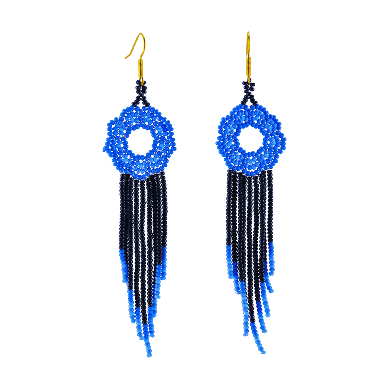 Margarita Earrings in Blue Skies - Josephine Alexander Collective
