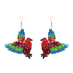 Mary the Macaw Earrings