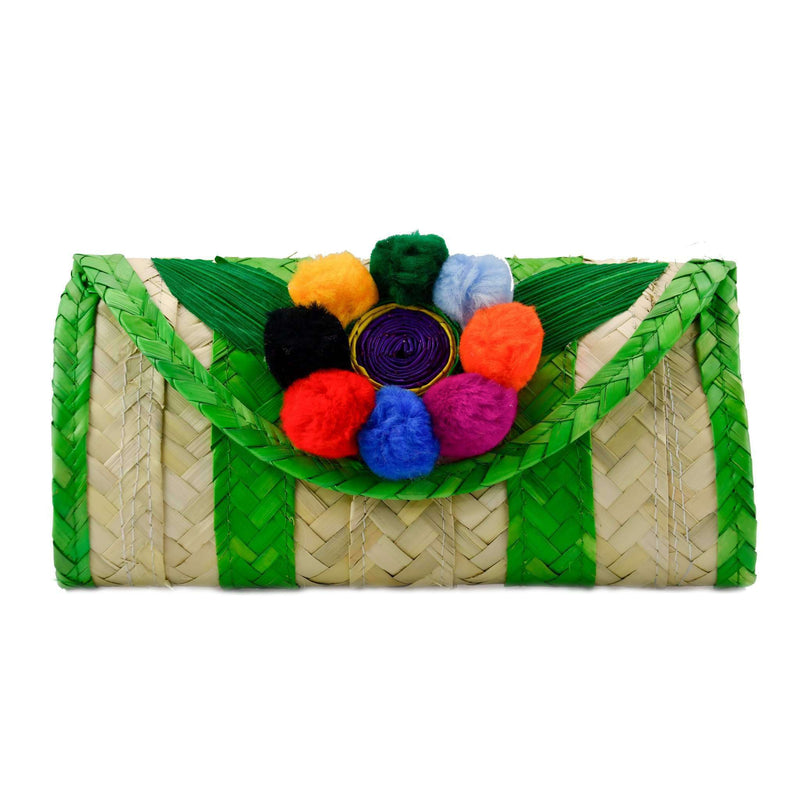 Melissa Pom Wallet in Lime
