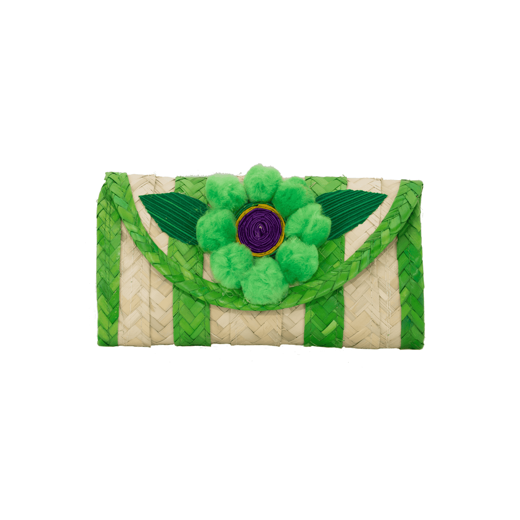 Melissa Pom Wallet in Key Lime Pie