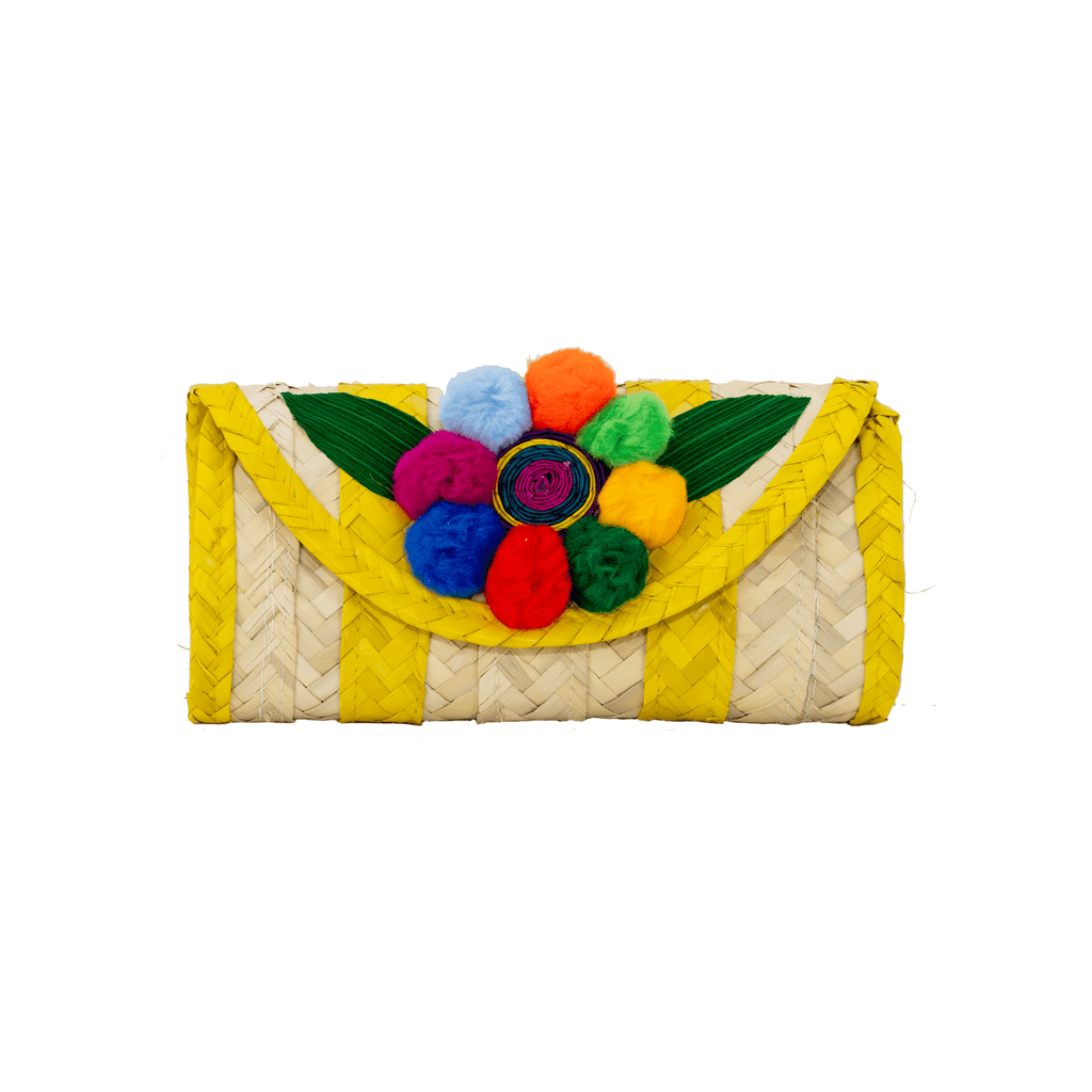 Melissa Pom Wallet in Lemon
