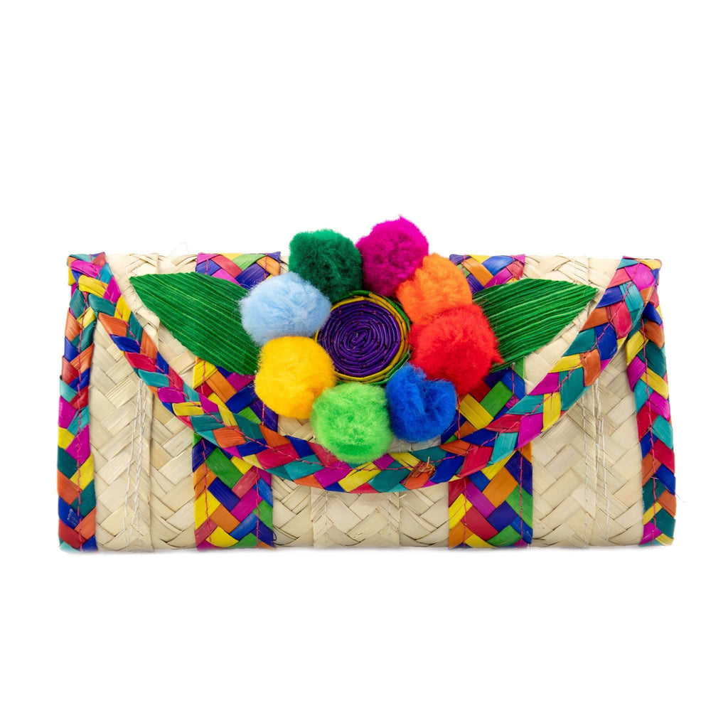 Melissa Pom Wallet in Rainbow