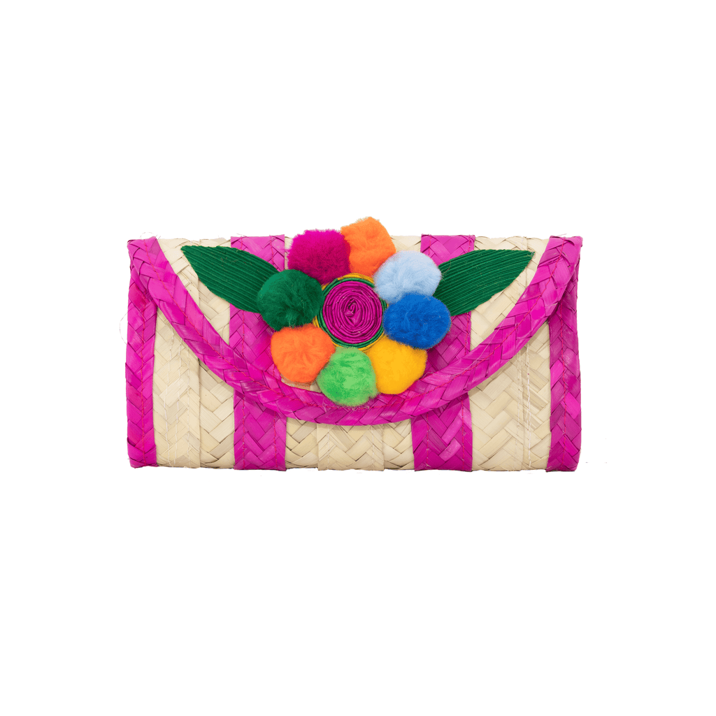 Melissa Pom Wallet in Strawberry