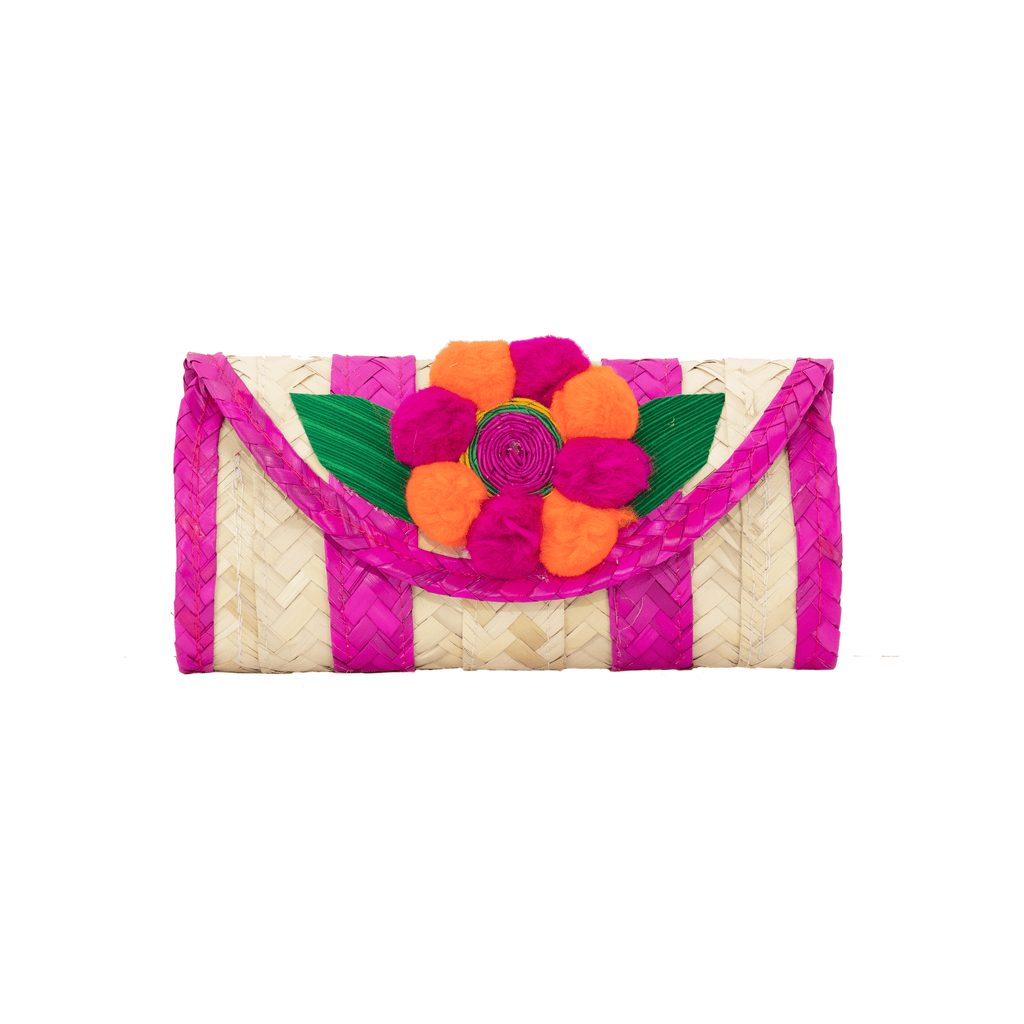 Melissa Pom Wallet in Strawberry Canteloupe
