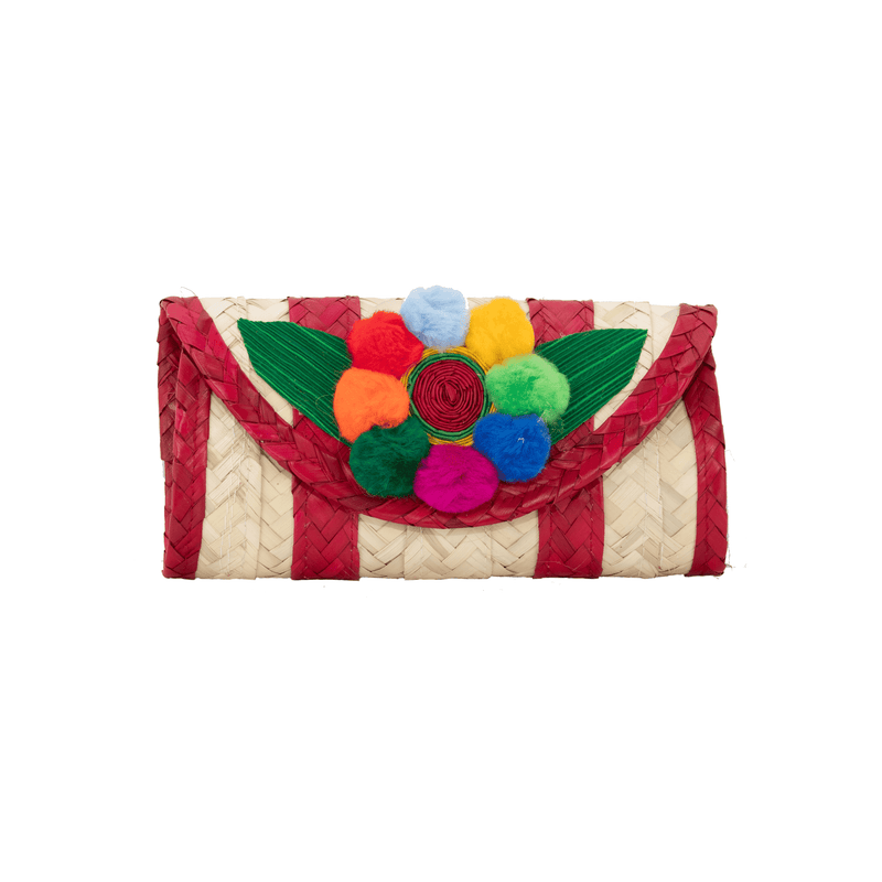 Melissa Pom Wallet in Watermelon - Josephine Alexander Collective