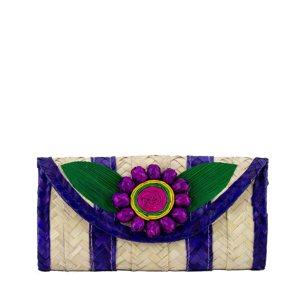 Melissa Wallet in Wild Grape