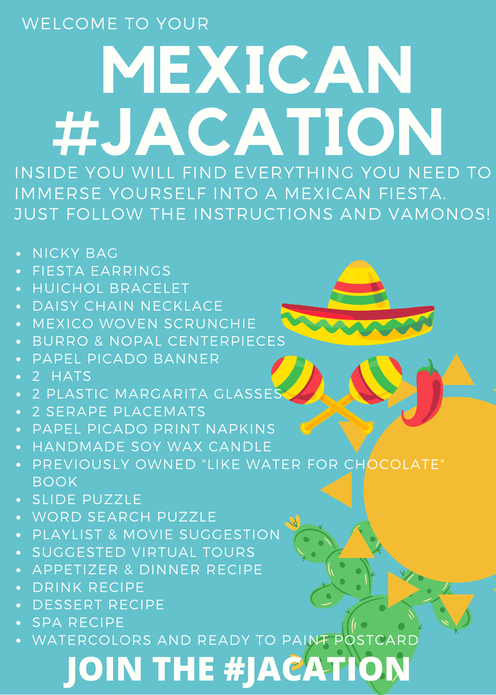 #JACation in a Bag - Mexico - Josephine Alexander Collective