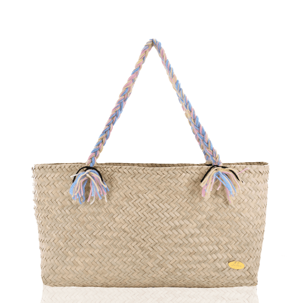The Nicky Beach Bag in Straw - Josephine Alexander Collective