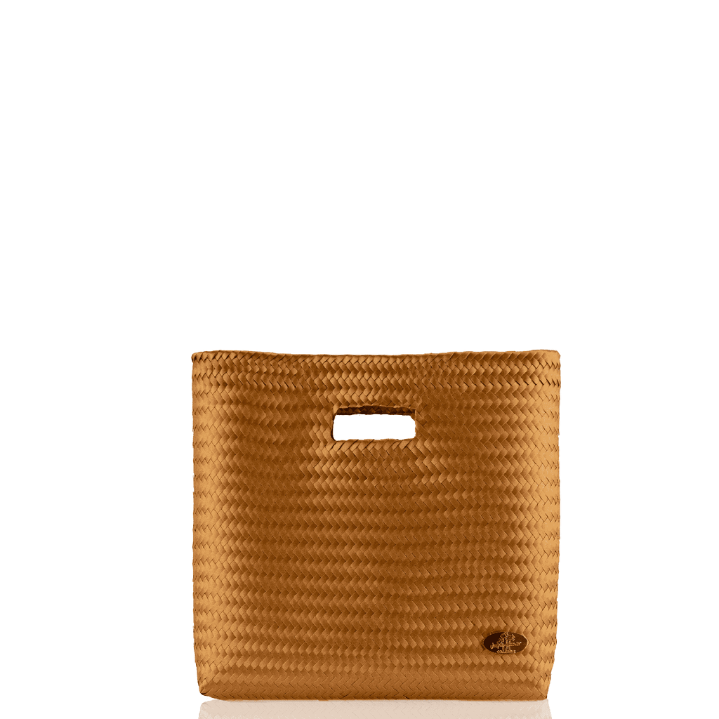 Palma Woven Hand Bag in Pumpkin Spice - Josephine Alexander Collective