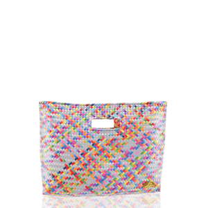 Palma Woven Handbag in Rainbow No. 7
